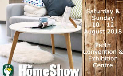 Perth Home Show – August 2018