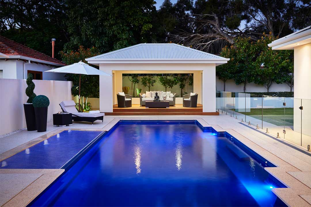 Residential Fibreglass Pool up to $40,000 - Gold