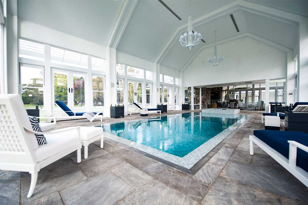 Residential Enclosed/Indoor Pool - Gold