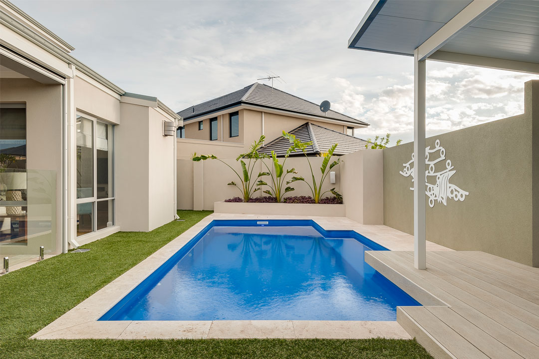 WA Fibreglass Pools pool project Perth
